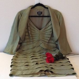 🍃🌹Adrianna Papell  'Occasions'  Dress & Jacket🍃